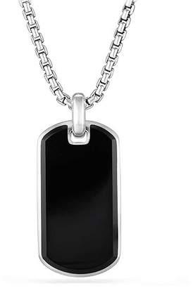 David Yurman Exotic Stone Tag in Black Onyx
