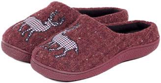 Isotoner Mens Novelty Mule Slippers