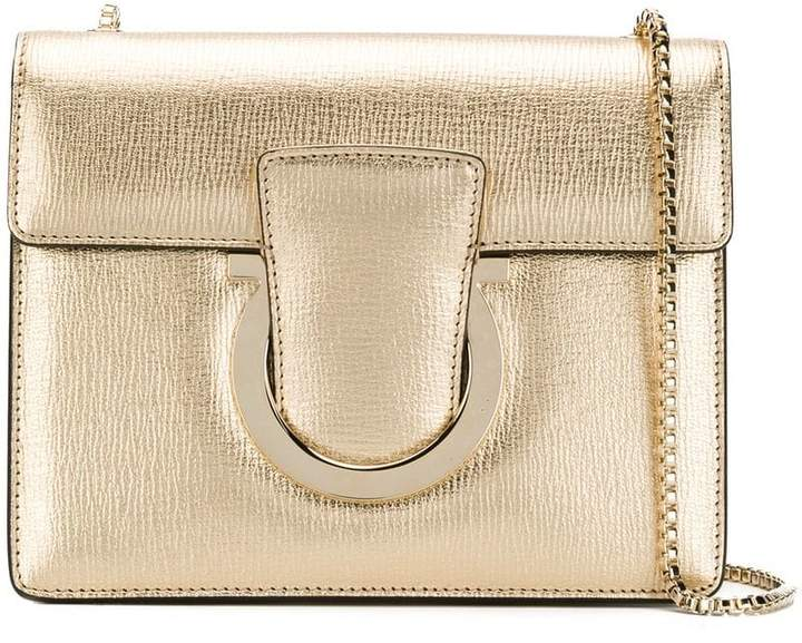 d4382aa5466 Salvatore Ferragamo Thalia shoulder bag - ShopStyle