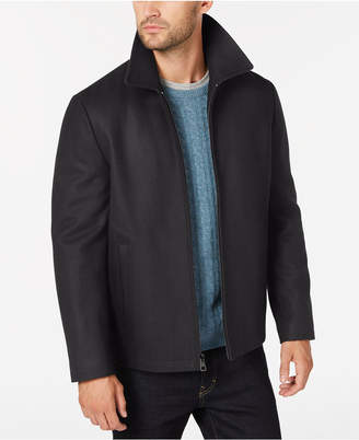 Calvin Klein Men's Open Bottom Hipster Coat