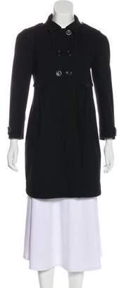 See by Chloe Pleated Knee-Length Coat