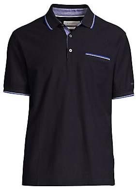Bugatti Men's Short Sleeve Cotton Polo Shirt