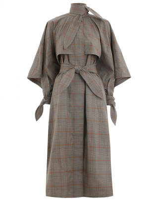 Zimmermann Unbridled Cape Tie Trench