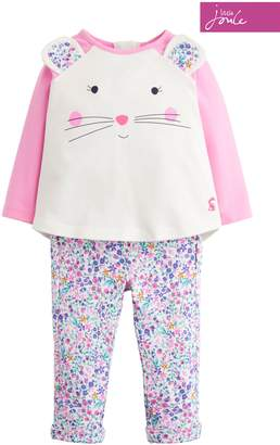 Next Girls Joules Pink Baby Amelie Novelty Set