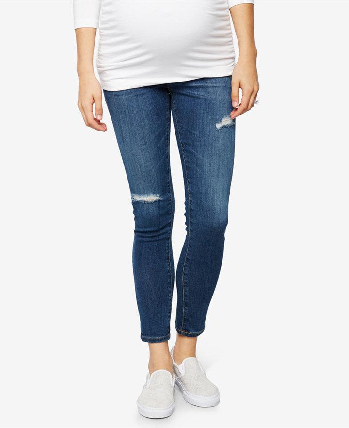 AG JeansAG Jeans Maternity Dark Wash Skinny Jeans