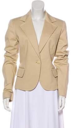Dolce & Gabbana Logo-Embellished Single-Breasted Blazer