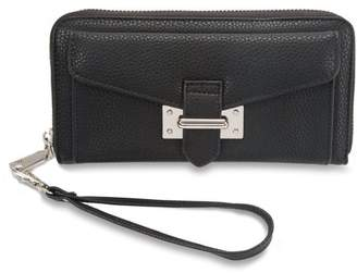 H2Z Handbags - Pocketed Wristlet Wallet Fits iPhone 6s and iPhone 7