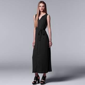 Vera Wang Women's Simply Vera Chiffon Maxi Dress