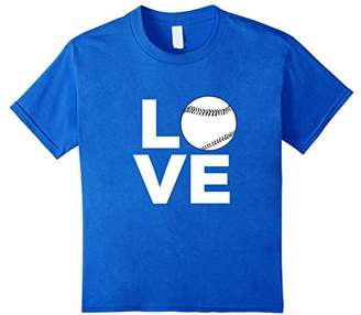 Baseball Softball Love T-Shirt