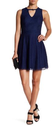 Sequin Hearts Lace Mini Dress (Juniors) $49 thestylecure.com