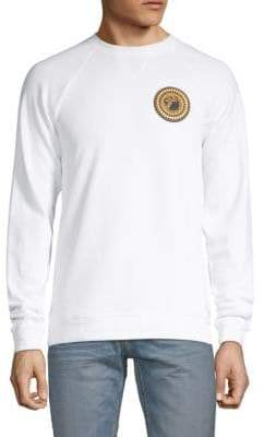 Versace Raglan-Sleeve Cotton Sweatshirt