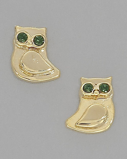 Juicy Couture Owl Stud Earrings
