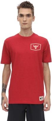 Under Armour Project Rock Iron Cotton Blend T-shirt