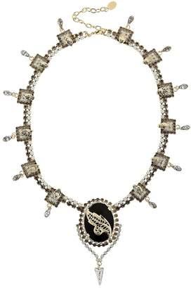 Spikes Embellished Necklace / Tiara