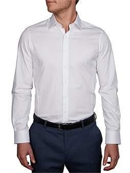 Geoffrey Beene St Vincent Stretch Dobby Body Fit Shirt