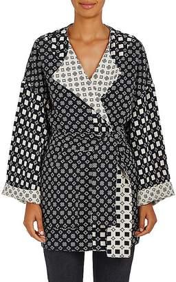 Ace&Jig Women's Blanket Reversible Cotton Coat