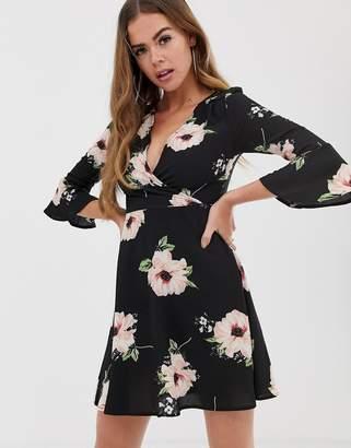 AX Paris floral wrap dress