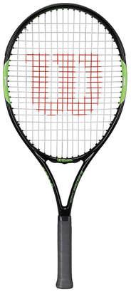 Wilson Blade Team 25in Junior Tennis Racquet Black / Green 25in