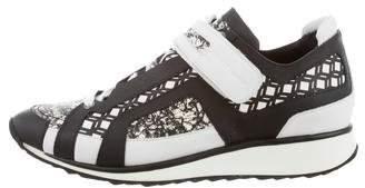Pierre Hardy Printed Low-Top Sneakers