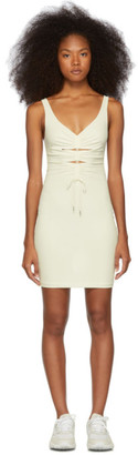 Alexander Wang Off-White Crepe Jersey Dress