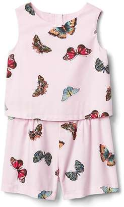 Butterfly double-layer romper $34.95 thestylecure.com