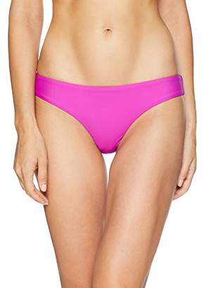 b2ce6612b06 Pilyq Women's Basic Ruched Bikini Bottom Teeny Swimsuit, ...
