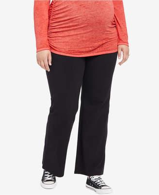 d04b516a699 Motherhood Maternity Plus Size Yoga Pants