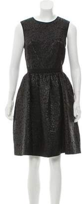 Jason Wu Sleeveless Brocade Dress