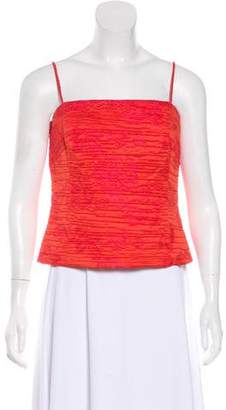 Akris Ruched Sleeveless Top