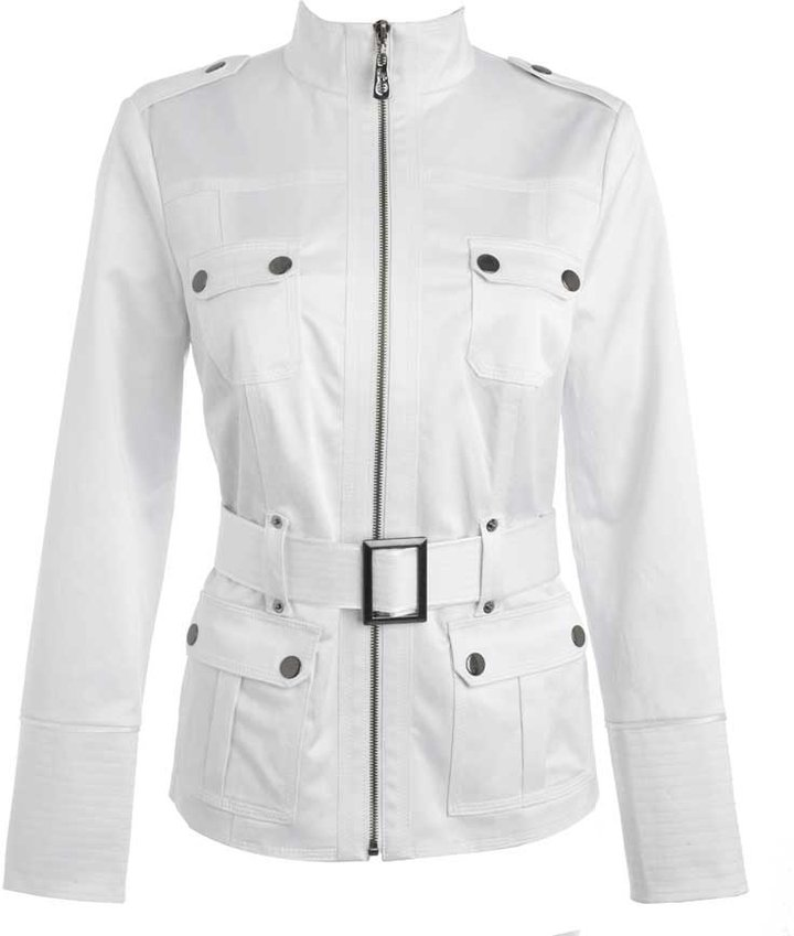 Star by Julien Macdonald White safari belted jacket