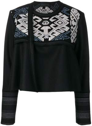 Diesel Black Gold embroidered jacket