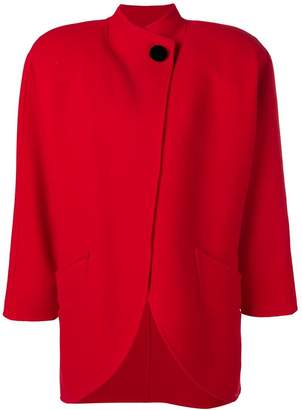 Marc Jacobs buttoned oversized coat