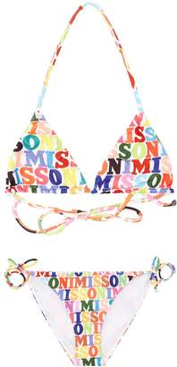 Missoni Logo Triangle Swimsuit