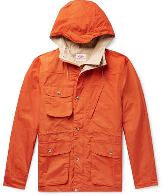 Battenwear Cotton And Nylon-Blend Hooded Parka