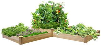 Greenes Fence 12 ft x 4 ft Cedar Raised Garden