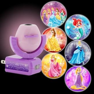 GE Projectables Disney Princesses 6-Image Plug-In LED Night Light, Light Sensing, 11738