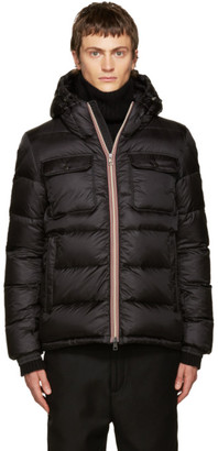 Moncler Black Down Morane Jacket $1,145 thestylecure.com