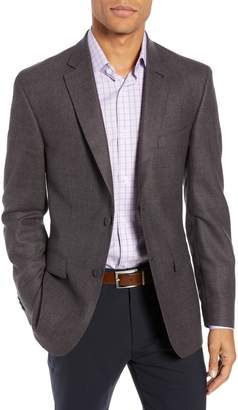 John W. Nordstrom R) Traditional Fit Houndstooth Wool Sport Coat