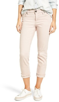 Women's Kut From The Kloth Amy Stretch Slim Crop Jeans $79 thestylecure.com