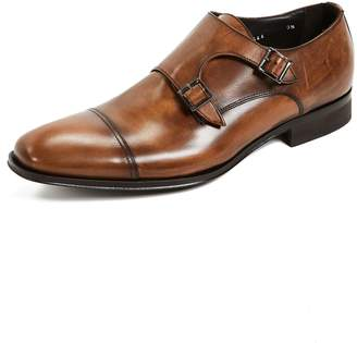 To Boot Grant Double Monk Strap Shoes