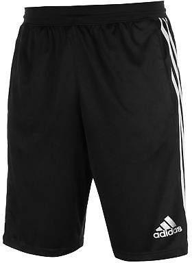 adidas Mens D2M Woven Shorts Pants Trousers Bottoms Lightweight Mesh Stripe