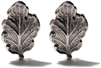 Buccellati leaf earrings