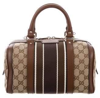 Gucci Small GG Boston Bag w/ Strap