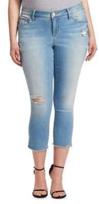 Slink Jeans, Plus Size Ashley Ankle Vent Jeans