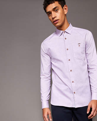 Ted Baker Textured cotton shirt
