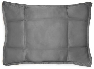Donna Karan New York Collection 'Surface' Silk Charmeuse Quilted Pillow Sham
