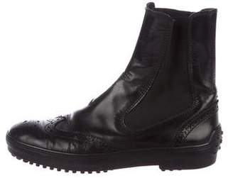 Tod's Cap-Toe Chelsea Boots