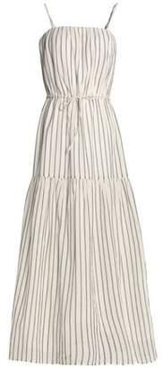 Joie Striped Cotton-Gauze Maxi Dress
