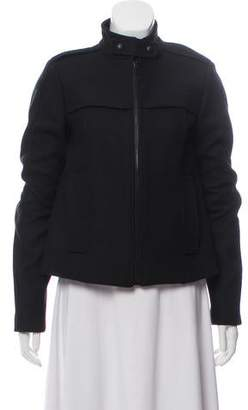 Proenza Schouler Wool Zip-Up Jacket
