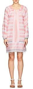 Lemlem Women's Tereza Striped Cotton Minidress - Light, Pastel pink